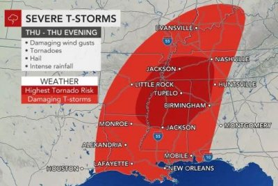 50 million across South brace for new severe weather outbreak