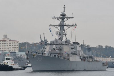 USS John S. McCain heads to new home port after 24 years in Japan