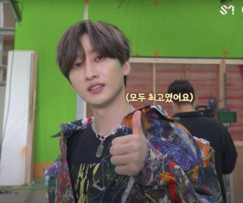 Super Junior's Eunhyuk films 'Be' music video in behind-the-scenes look