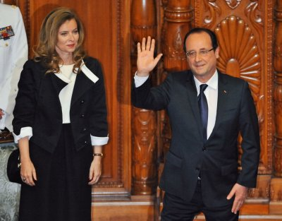 French President Hollande and girlfriend Trierweiler 'c'est fini'