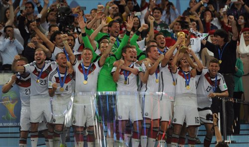 Germany wins fourth World Cup title with a 1-0 victory over Argentina