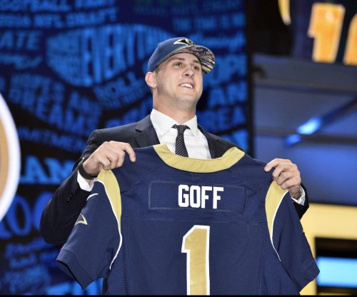 Los Angeles Rams select California QB Jared Goff at No. 1 overall