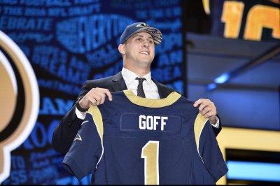 Los Angeles Rams select California QB Jared Goff at No. 1 overall