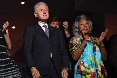 Former President Bill Clinton, delegate roll call on Day Two of Democratic convention
