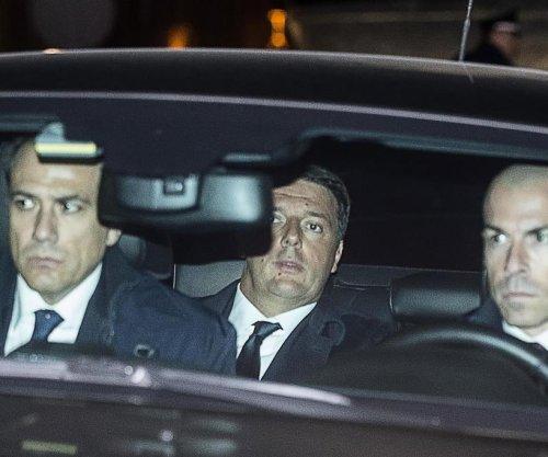 Italian Prime Minister Renzi formally resigns