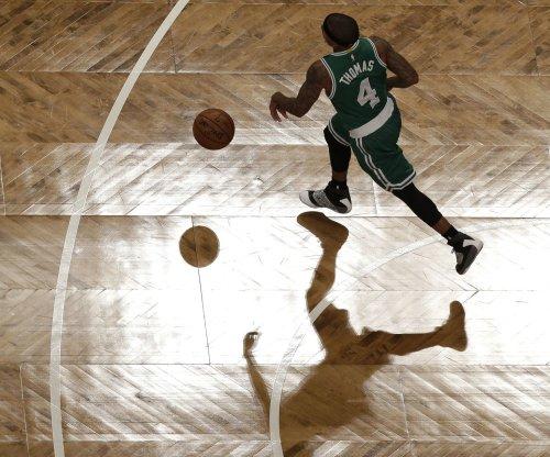 Isaiah Thomas' 34 points guides the Boston Celtics past the Portland Trail Blazers
