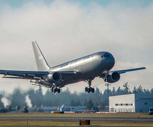 Boeing's new KC-46A tanker completes first flight