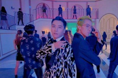 Seungri's music video parodies Trump and Kim