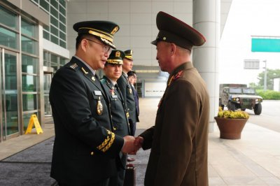 North, South Korea restore military communication line