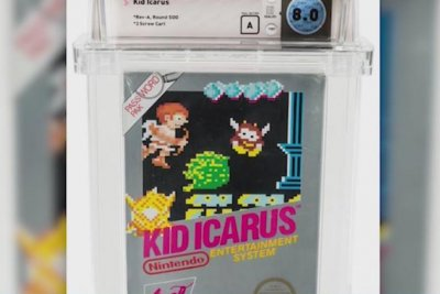 Watch: Sealed copy of Nintendo game 'Kid Icarus' sells for