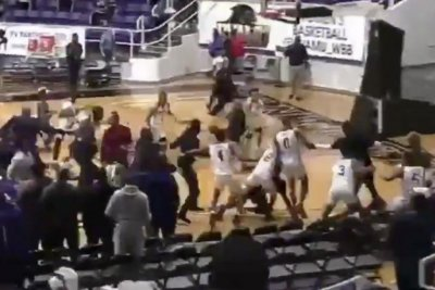 Watch: Melee follows Prairie View A&M's victory over Jackson State