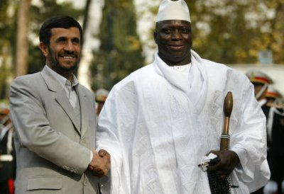 Gambian president comments on homosexuality in japan