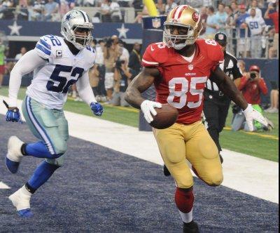 San Francisco 49ers TE Vernon Davis doubtful to face Green Bay Packers