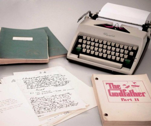 'Godfather' author's 45-box archive sold for $625,000