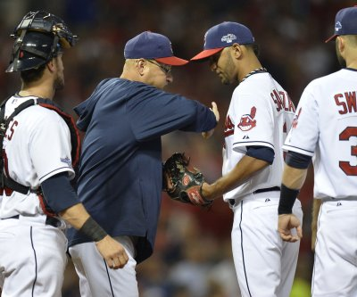 Cleveland Indians' Danny Salazar could return for World Series
