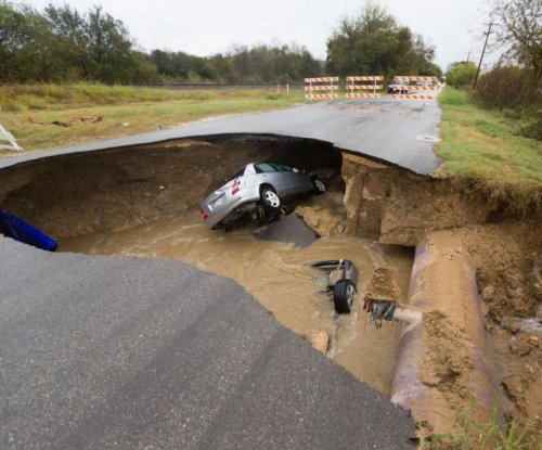 Deputy dies when sinkhole swallows vehicle in San Antonio
