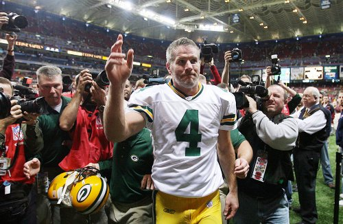 Favre 'excited' about joining Jets