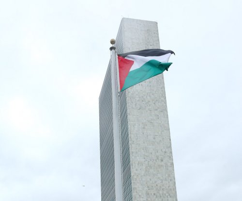 Palestinian flag raised at United Nations headquarters for first time