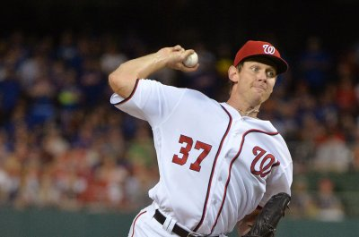 Washington Nationals' Stephen Strasburg misses start with strained back