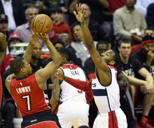 Toronto Raptors G Kyle Lowry misses game with wrist injury