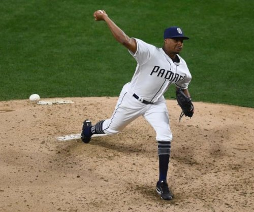 San Diego Padres' Luis Perdomo beats Cincinnati Reds for first win of season