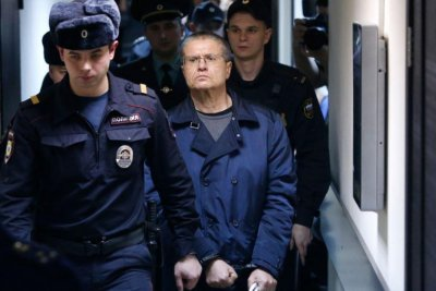 Former Russian economic minister Ulyukayev gets 8 years after bribery conviction