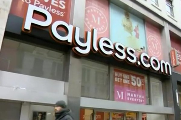 Payless ShoeSource files for bankruptcy, will close all 2,500 North America stores