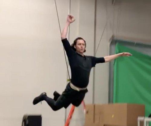 Tom Hiddleston preps for 'Loki' series in new video