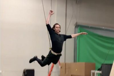 Tom Hiddleston preps for 'Loki' series in new video