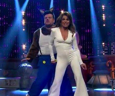 Paula Abdul, James Corden recreate 'Opposites Attract' music video