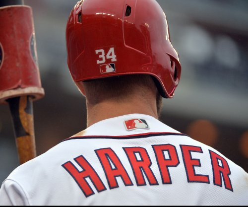 Bryce Harper drops appeal, serves one-game suspension