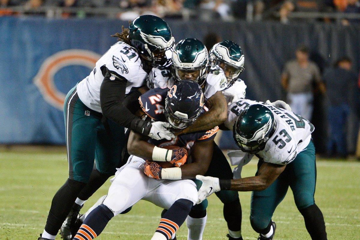Chicago Bears rookie RB Jordan Howard to carry load vs Detroit