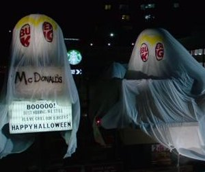 Burger King trolls McDonald's with epic Halloween 'costume'