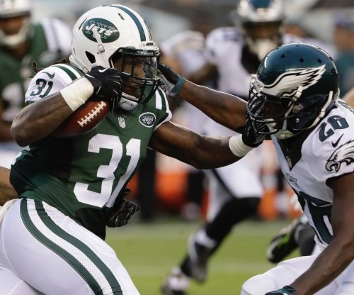 New York Jets re-sign RB Khiry Robinson, promote RB Brandon Wilds