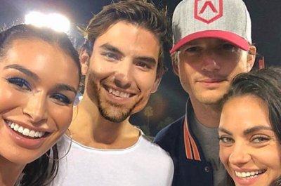 Jared Haibon meets celebrity lookalike Ashton Kutcher