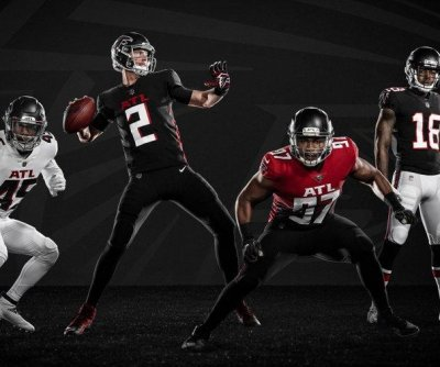 Atlanta Falcons reveal new uniforms in first redesign since 2003