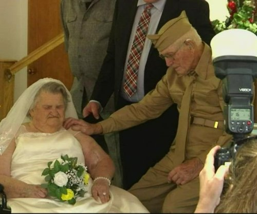 West Virginians celebrate their 75th anniversary with a second wedding