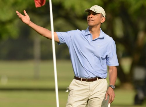 Obama strikes back at Michael Jordan for golf comment