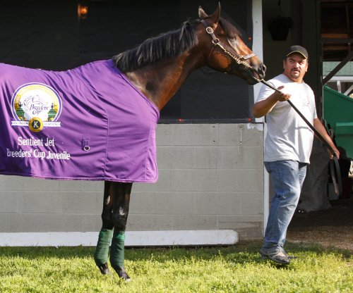 2016 Kentucky Derby favorite Nyquist makes first impression at Churchill Downs