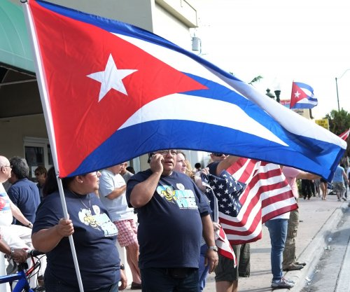 Cuban-Americans fill Miami streets to celebrate Fidel Castro's death