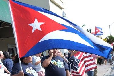 Cuban-Americans fill Miami streets to celebrate Fidel Castro's death