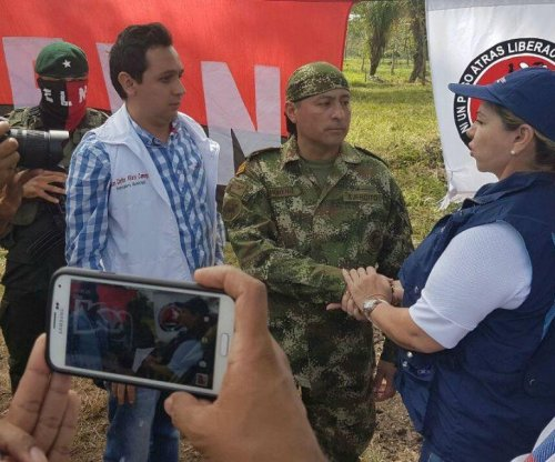 ELN rebels free Colombian soldier before peace talks