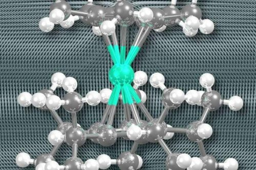 Chemists design world's first high-temperature single-molecule magnet