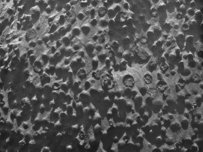 Mars rover finds strange spheres on ground