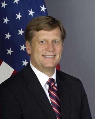 US Ambassador to Moscow announces resignation -- via blog and Twitter