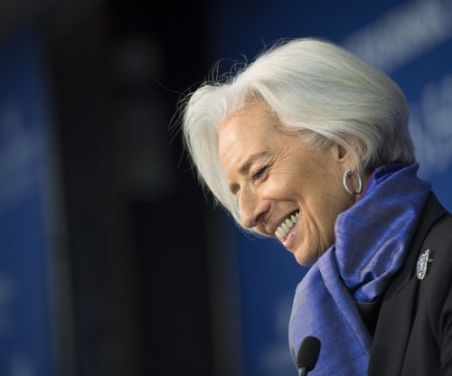 IMF's Lagarde: global economy risks low growth