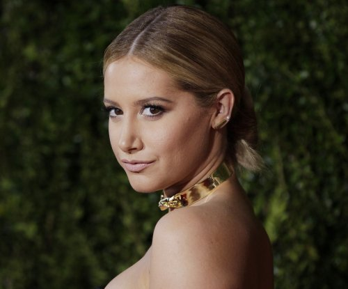 Ashley Tisdale introduces Vanessa Hudgens at Tony Awards