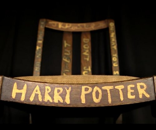 Chair J.K. Rowling wrote 'Harry Potter' in sold for $394,000 at auction