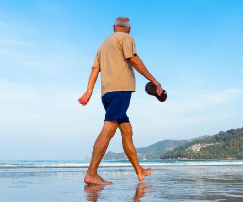 Light physical activity may lower risk of death for older men