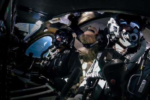 Virgin Galactic carries test passenger to space for the first time